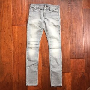 Banana Republic Gray skinny jeans size 25